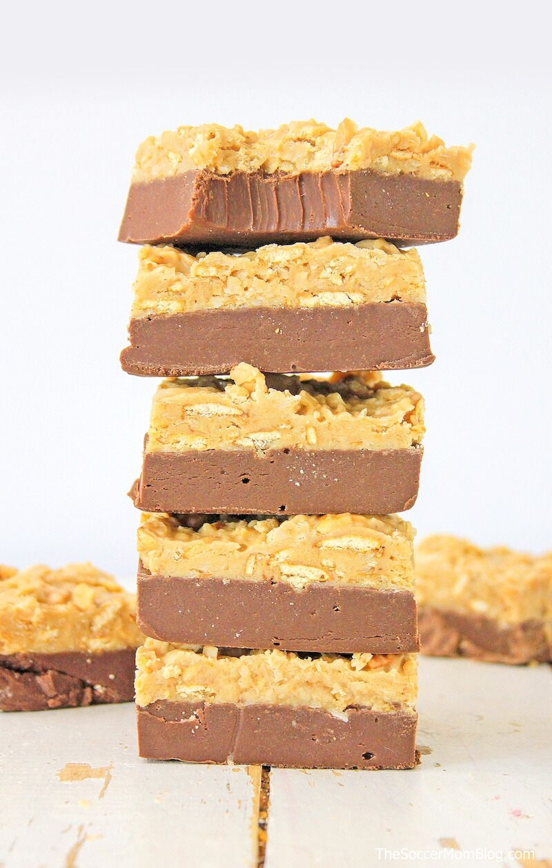The best homemade fudge recipe you'll ever taste!! If you love German chocolate cake then this German Chocolate Fudge is a must-try treat!