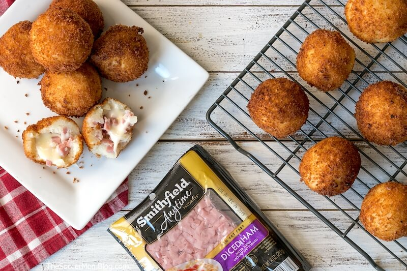 These easy ham and cheese croquettes are a crispy, cheesy, melty, and delicious — the perfect bite! Keep reading for our easy recipe to make Cuban ham croquettes at home.