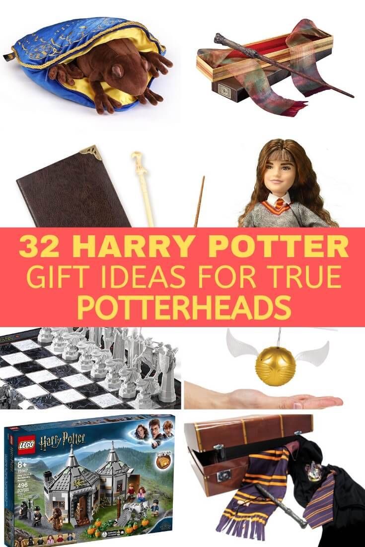 A huge collection of Harry Potter gift ideas for fans of all ages! From toys, to costumes, and more, these are the best Harry Potter presents and are guaranteed to make your favorite Potterheads day!