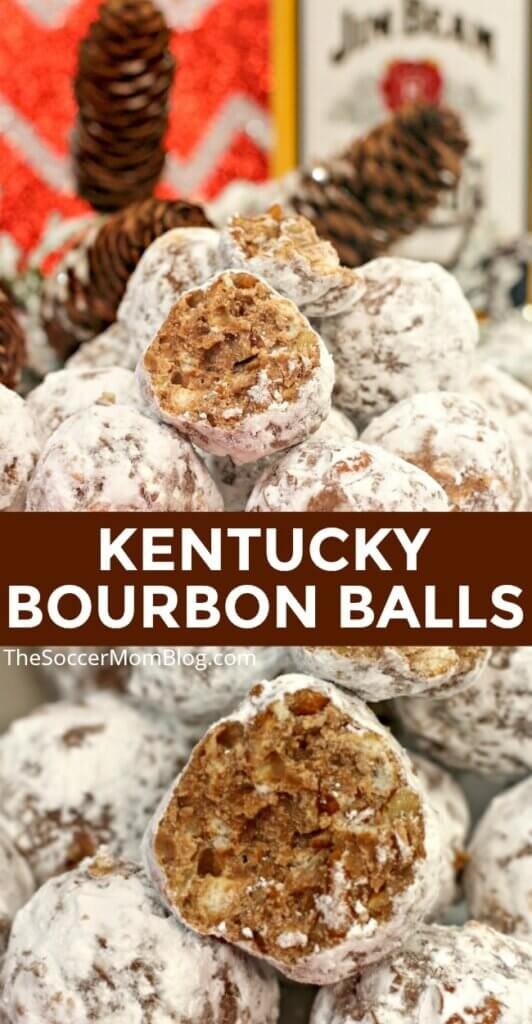 These delicious Kentucky Bourbon Balls are a classic treat, perfect for any get together!