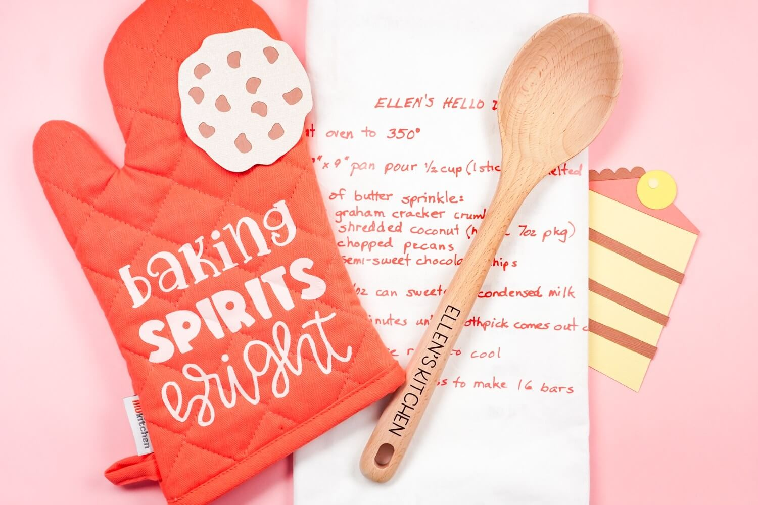 baking gift set made with Cricut