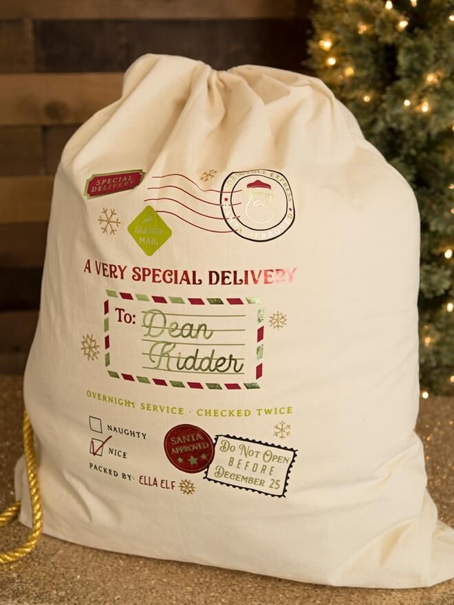 Cricut gift bag