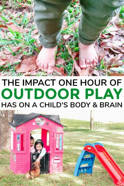 The BIG benefits of outdoor play for toddlers, preschoolers, and kids of all ages — plus, how to get kids to play outside every day! Sponsored by Little Tikes.