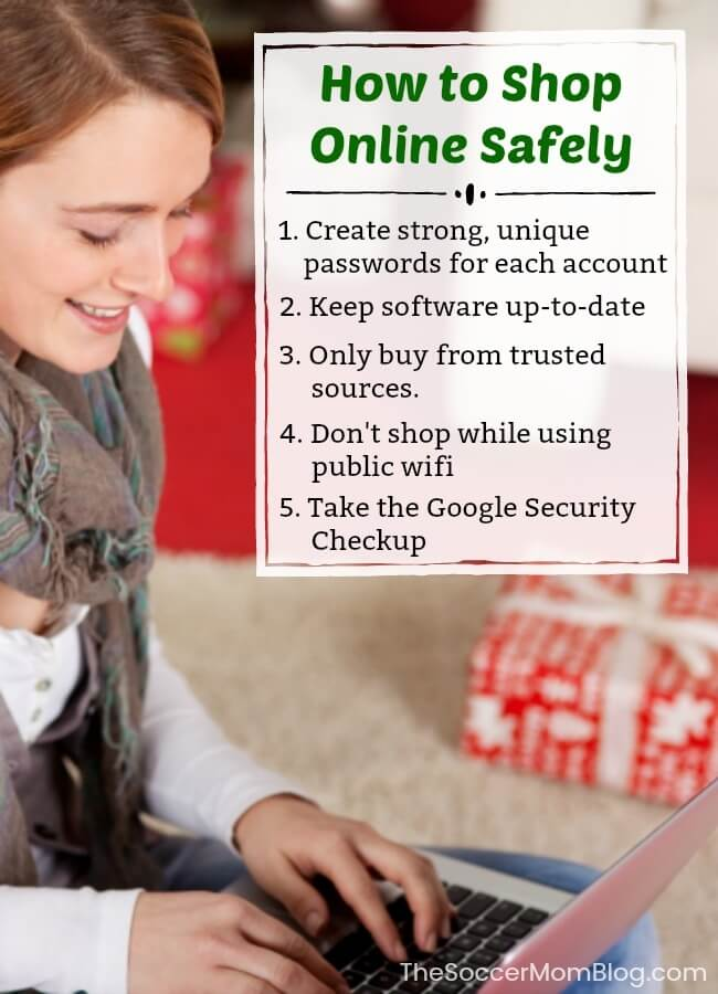 It may convenient, but is online shopping safe? These simple tips from Google will make sure that you have a safe online shopping experience!