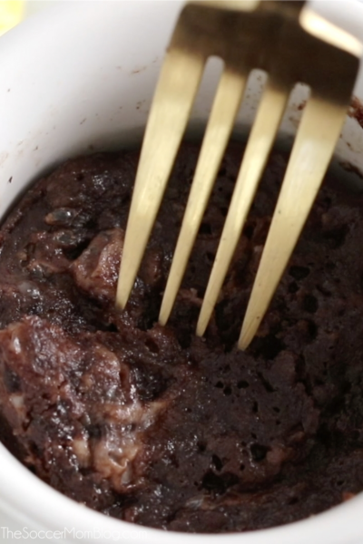 rich chocolate mug cake