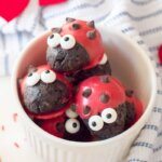 These adorable Ladybug Valentine Truffles are a sweet treat that's perfect for the love bug in your life! These easy Oreo truffles are fun to make with the kids...and even more fun to eat!