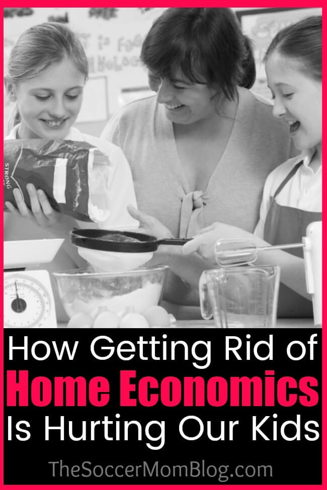Home economics class used to be a staple of secondary school curriculum, but have almost disappeared now. What that means for today's young adults.