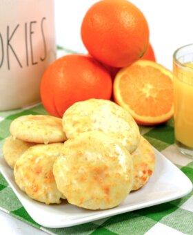 Orange Juice Cookies