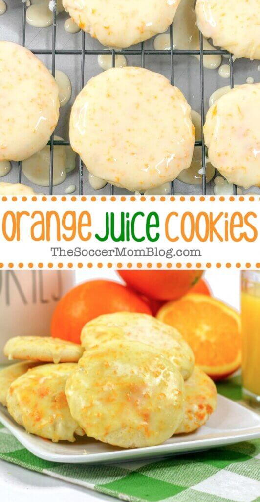 If you're craving a cookie that's anything but ordinary, then our fresh orange juice cookies are a must-try! Light and fluffy in the middle with chewy golden brown edges — they are heavenly pillows of deliciousness! And with real orange juice and orange zest baked right in, these orange cookies are bursting with citrus flavor!