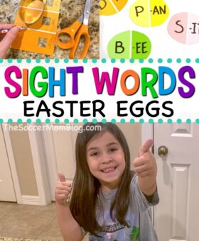 Easter Themed Sight Words Games