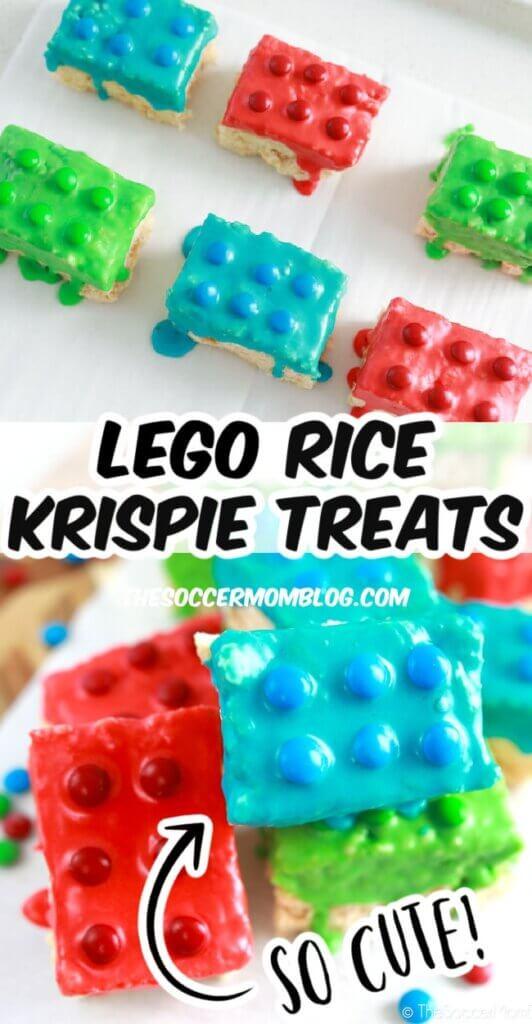 LEGO rice krispies treats
