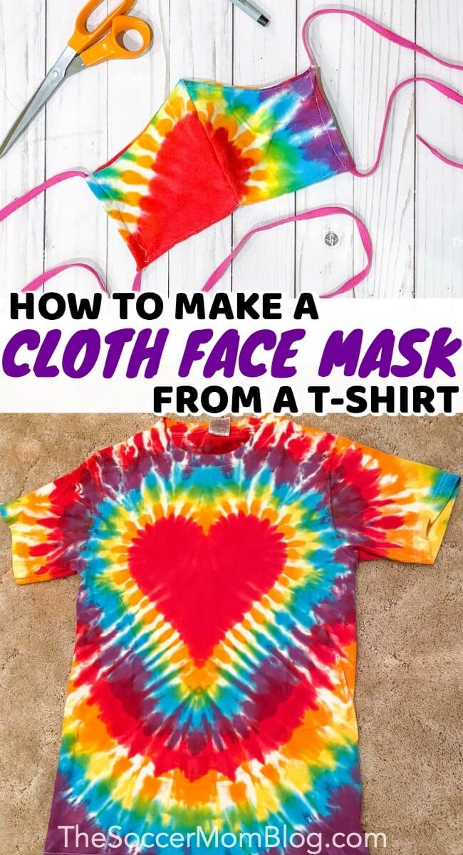 How To Make A Homemade Face Mask From T Shirt