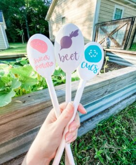 DIY Garden Markers with Cricut Joy