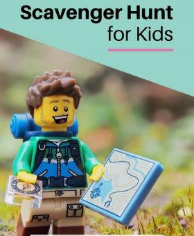 Indoor Scavenger Hunt Ideas for Kids