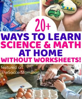 20+ Learning at Home Activities