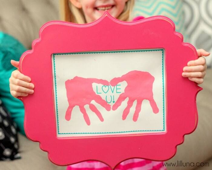 handprint art for mom