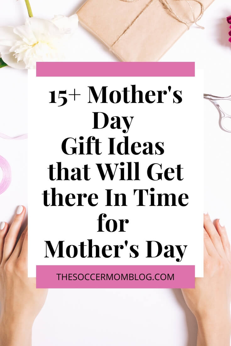 Mother's Day is almost here, and if you're still looking for the perfect gift for mom this Mother's Day, you're in luck! I have put together a list of gifts that you can either make or have delivered in time for Mother's Day!