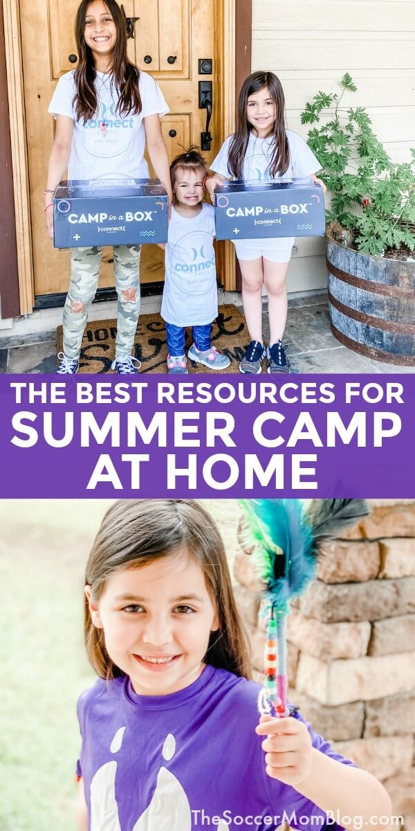 How to create an awesome summer camp at home experience for your kids -- on any budget!