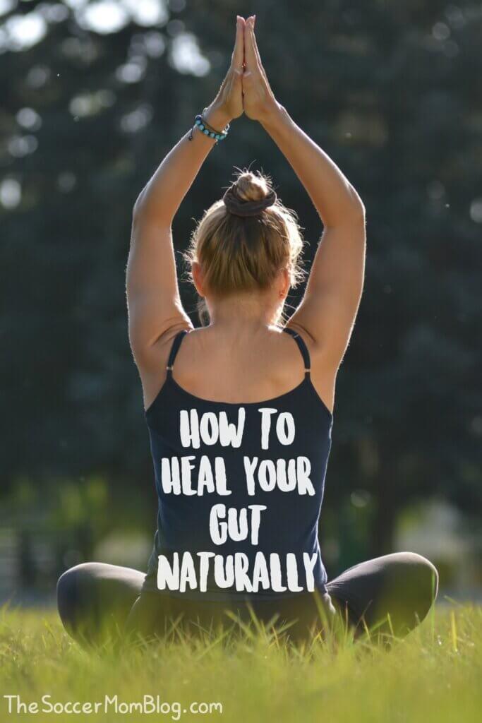 yoga pose sitting in grass
