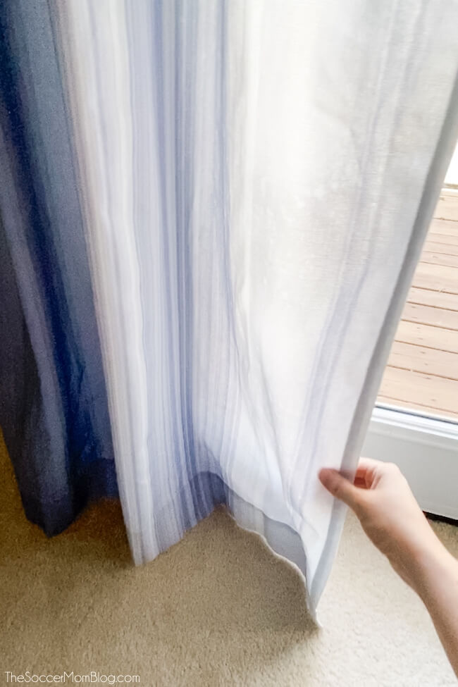 how to get wrinkles out of curtains with spray
