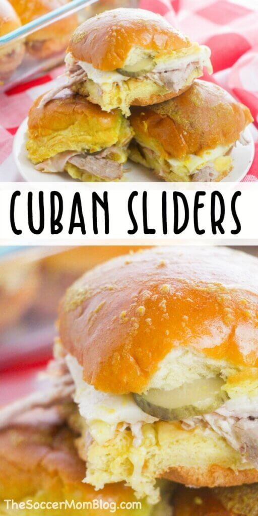 Authentic taste you can make at home, you'll want to make these Cuban Sliders every day
