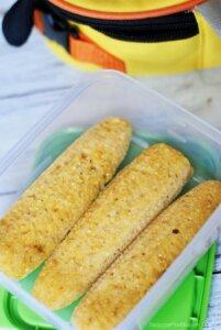 cornbread muffins shaped like corn on the cob