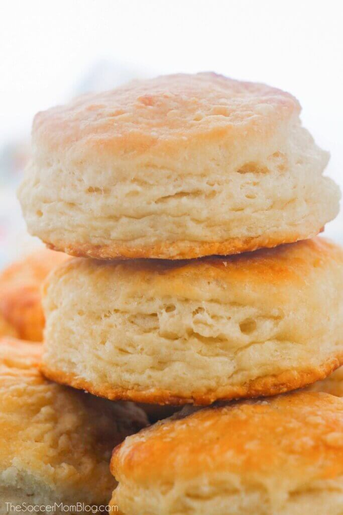 Light and buttery, these Southern Biscuits are perfect for any time of day!