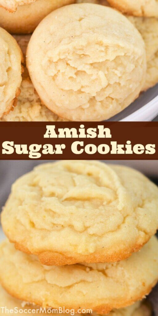 Nothing beats the classics. These Amish Sugar Cookies are so simple and so delicious!