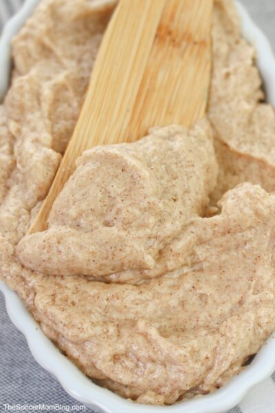 creamy homemade cinnamon butter