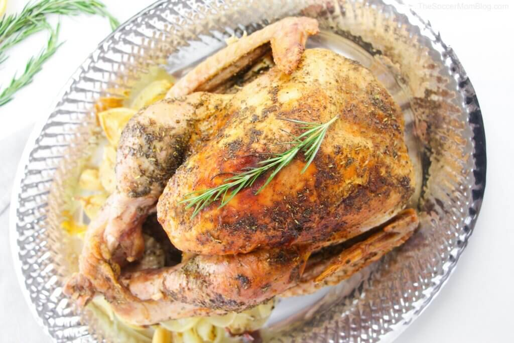 This crazy simple and delicious Roast Turkey is the highlight of any meal all year round!