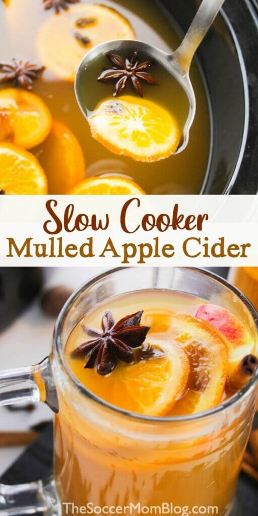 apple cider made in the crockpot