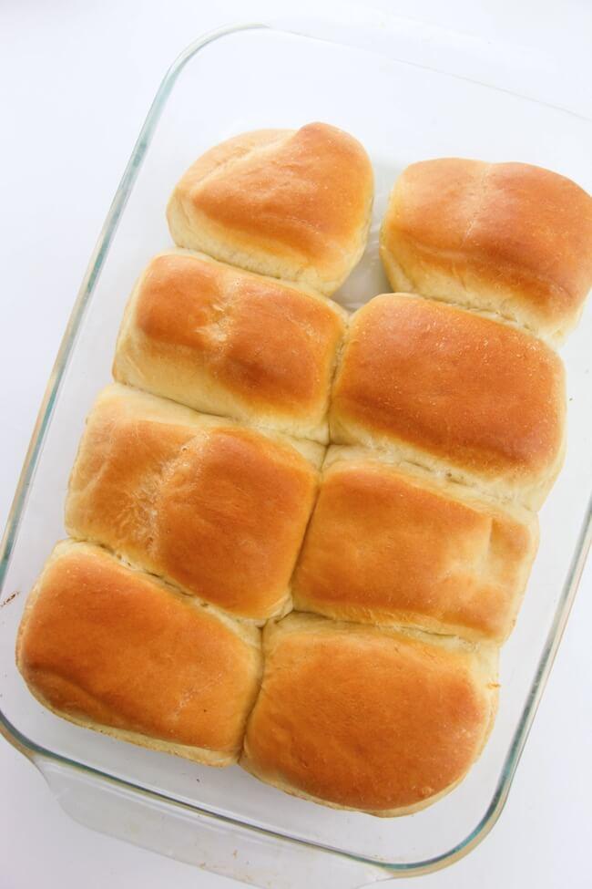 fresh baked homemade Texas Roadhouse rolls