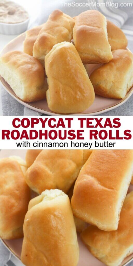 These Copycat Texas Roadhouse Rolls let you bring the light buttery flavor home any time you want!