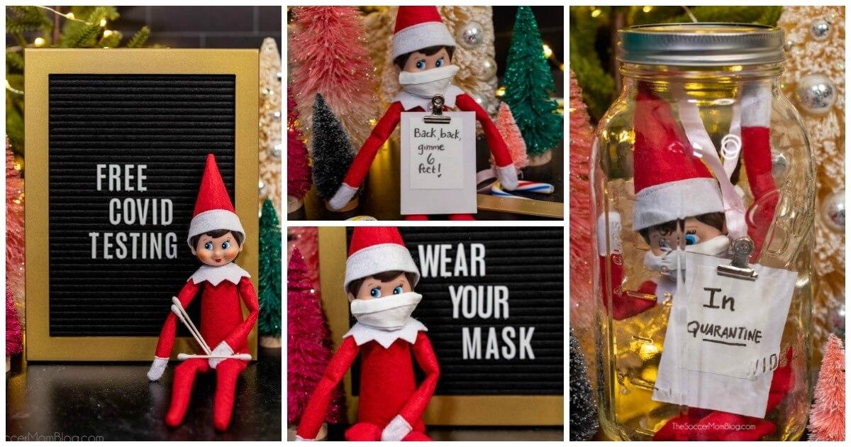 Quarantine Elf On The Shelf New Ideas For 2020 The Soccer Mom Blog