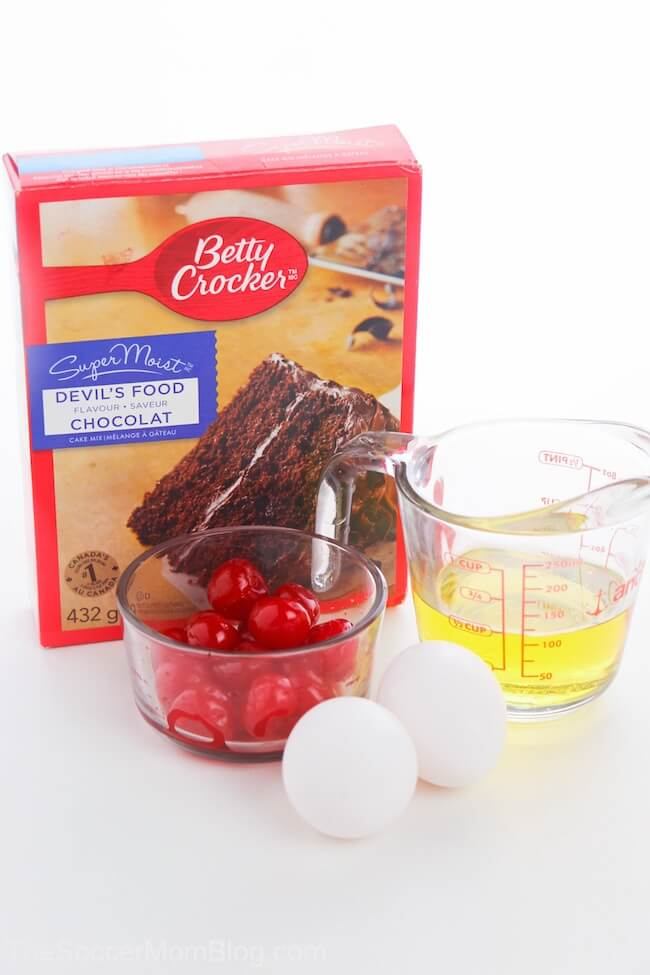 chocolate cake mix cookie ingredients