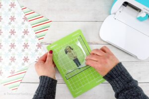 removing printable clear sticker paper from Cricut Joy mat