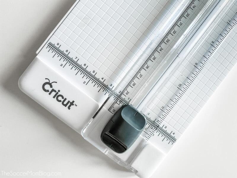 Cricut tragbarer Trimmer-Papierschneider