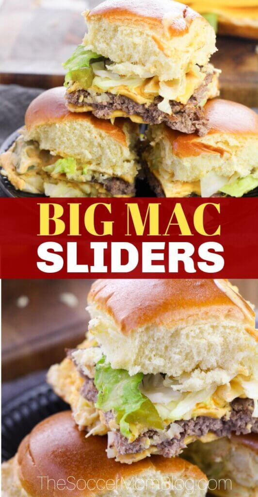 There's no sandwich quite like the classic Big Mac, but these amazing Big Mac Sliders bring home all the taste you love, with less of the guilt!