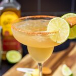 These sweet Mexican Candy Margarita are so simple to make, and such a treat to drink!