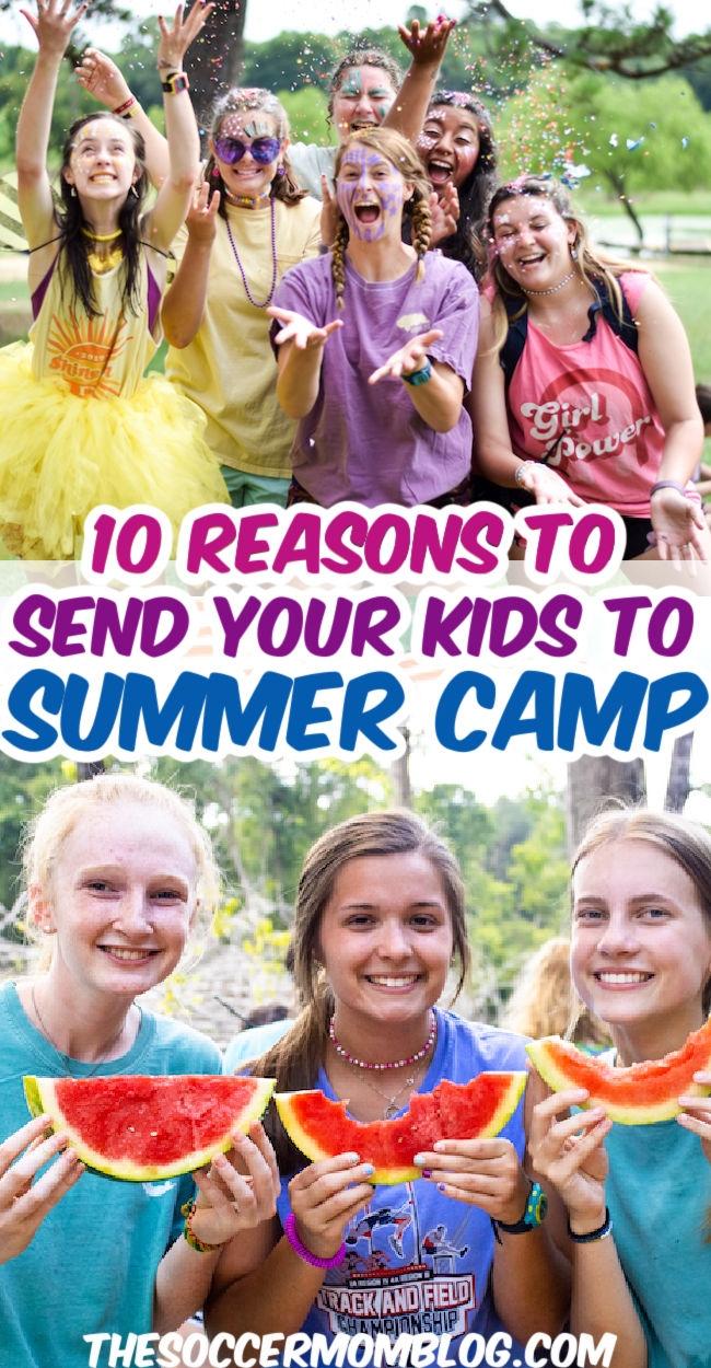 photos of kids at summer camp