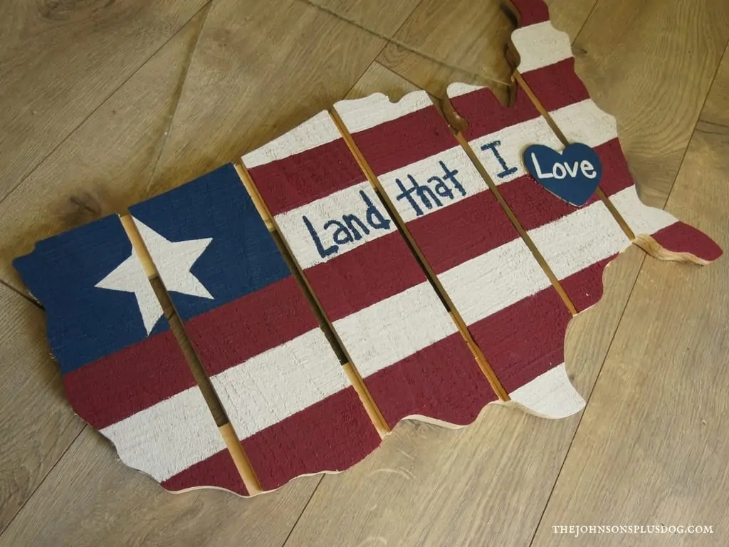 wooden United States craft