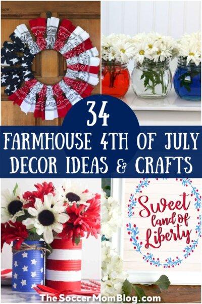 photos of farmhouse 4th of July decor ideas