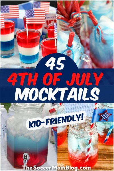 photos of 4th of july themed kids drinks