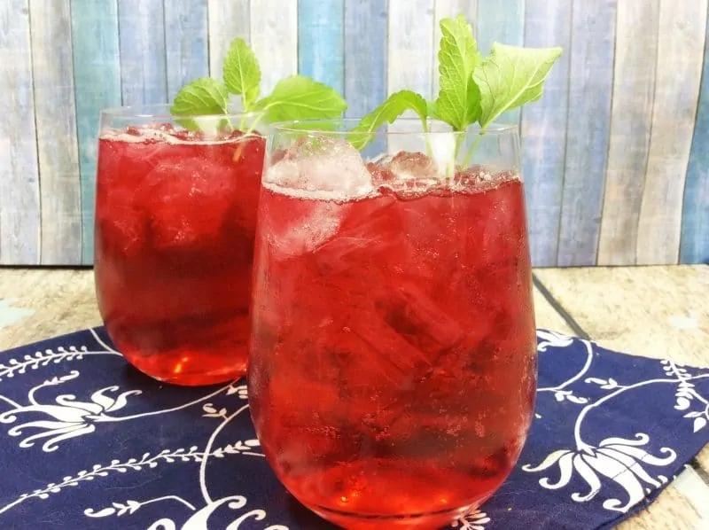 red passionfruit tea