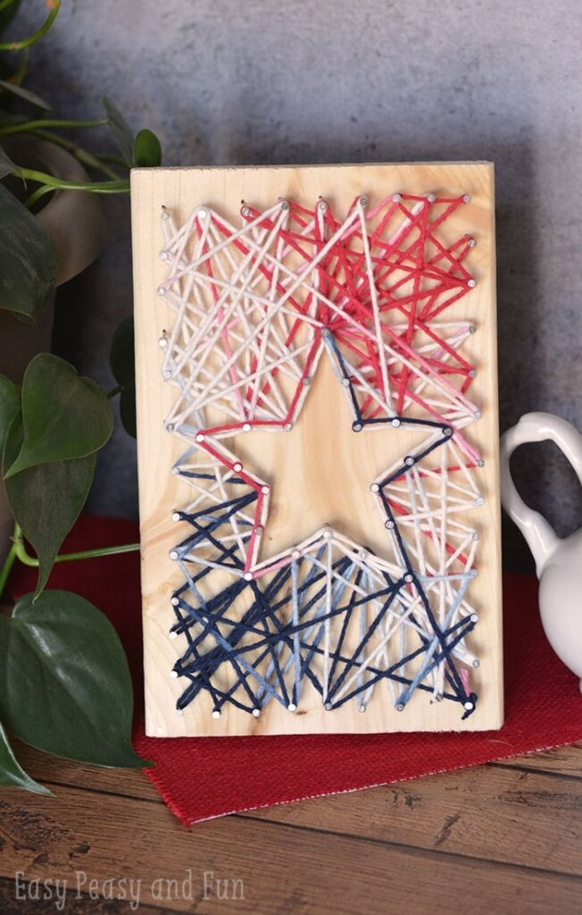 4th of July string art