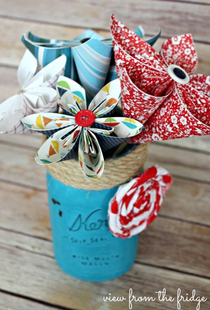 paper flowers crafts