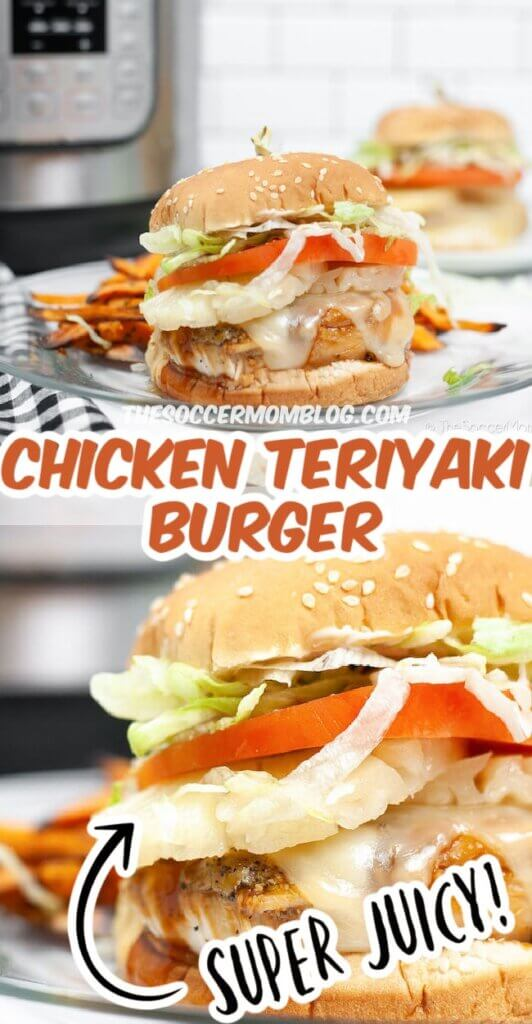 Sweet and savory, this Chicken Teriyaki Burger is the best way to get the famous Red Robin dish at home!