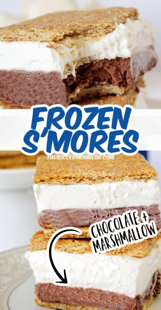 These Frozen S'mores are the perfect way to enjoy all the flavors of s'mores treats without the need for a campfire