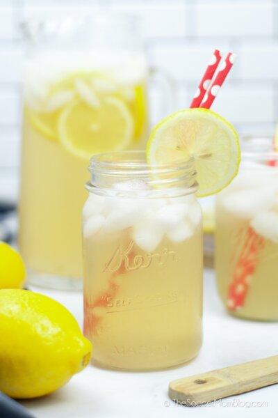 homemade lemonade made in an Instant Pot
