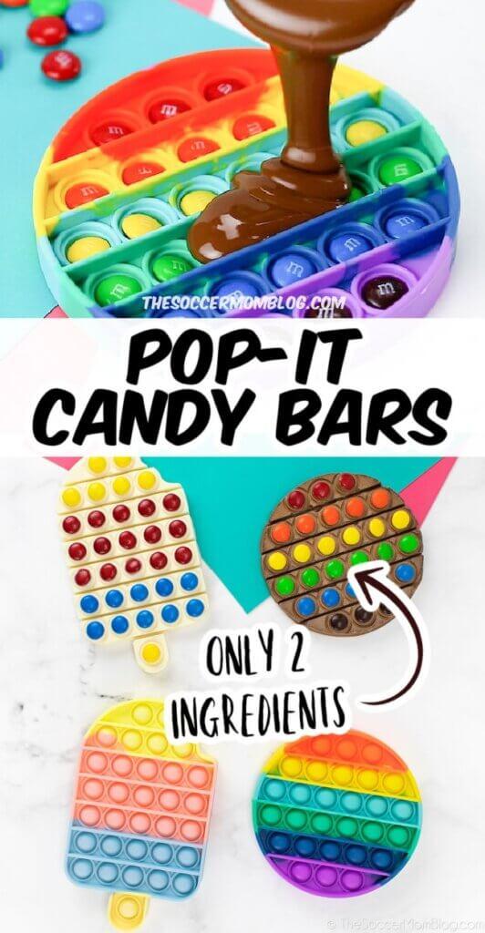 how to make pop it chocolate bars